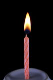 Candle. The candle for in birthday Royalty Free Stock Images