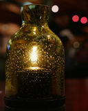 Candle Bottle Royalty Free Stock Photography