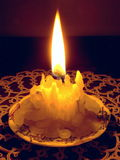 Candle Burning Low Stock Photos
