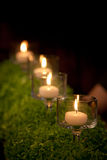 Candle and candle holders Royalty Free Stock Photo