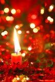 candle christmas Στοκ Φωτογραφίες