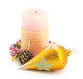 Candle, christmas Royalty Free Stock Photography