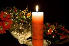 candle christmas Στοκ εικόνα με δικαίωμα ελεύθερης χρήσης