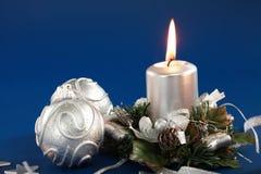 candle christmas Στοκ Εικόνα