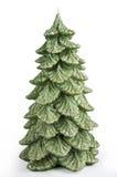 Candle Christmas tree Stock Image