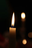 Candle Ivory Royalty Free Stock Photos