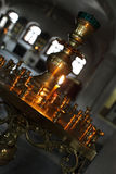 Candle in the church Royalty Free Stock Photography