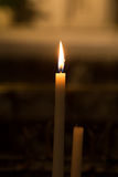 Candle at Church Stock Photography