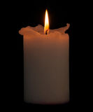 Candle with clipping path. Stock Images