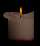 Candle with clipping path. Stock Photos