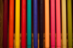 Candle color 1 Stock Images