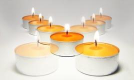 Candle cross Stock Photo
