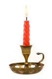 candle czerwień Fotografia Royalty Free