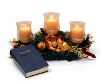 Candle Decore Royalty Free Stock Photo