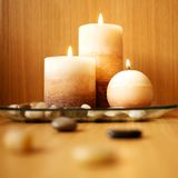 Candle design. Stock Photos