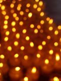 Candle dot. In Chinese temple Stock Photo