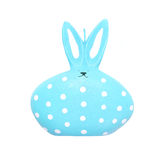 Candle Easter rabbit isolated on white background Stock Image