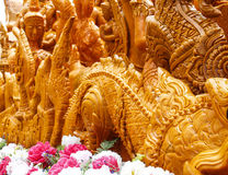 Candle Festival. Loei Thailand June 28, 2014 Royalty Free Stock Images