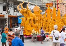 Candle Festival parade Royalty Free Stock Images