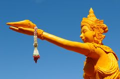 Candle Festival in Thailand Royalty Free Stock Images
