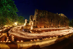 Candle festival Royalty Free Stock Photography