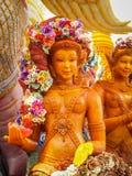 Candle Festival. Ubon Ratchathani, Thailand July 11, 2014 Royalty Free Stock Photography