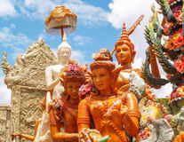Candle Festival. Ubon Ratchathani, Thailand July 11, 2014 Stock Photography