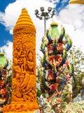 Candle Festival. Ubon Ratchathani, Thailand July 11, 2014 Stock Images