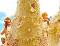 Candle Festival. Wax Carving Traditions Festival, Ubon Ratchathani, Thailand Stock Photo