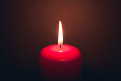 Candle fire Stock Images