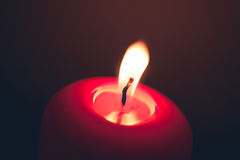 Candle fire Stock Photos