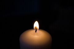 Candle fire Stock Image