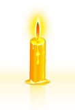 Candle and flame Stock Photos