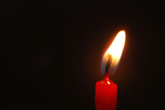 Candle flame Stock Photography