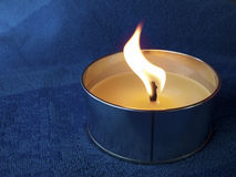 Candle flame Stock Image