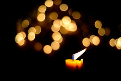 Candle flame Royalty Free Stock Photos