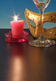 Candle flame. Stock Photography