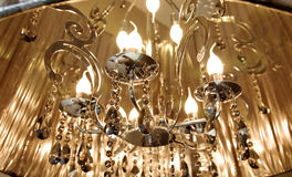 Candle flame tungsten bulbs Stock Photo