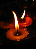 Candle Flames royalty free stock image