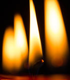 Candle Flames III Royalty Free Stock Images