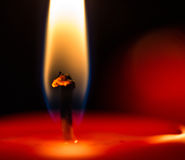 Candle Flames IV Stock Photography