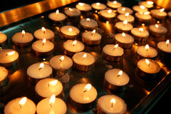 Candle group - backgrounds Royalty Free Stock Image