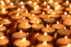 Candle group - backgrounds Stock Image