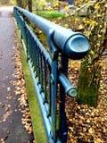 Balustrade on a bridge Royalty Free Stock Photo