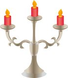 The candle holder. Stock Images