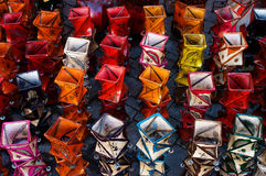 Candle holders on market in Marrakesh Stock Photo