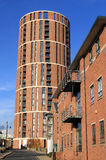 Candle House, Granary Wharf, Leeds, West Yorkshire stock photo