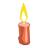 Candle  illustration Stock Images