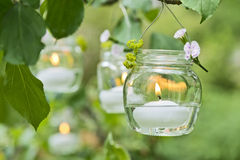 Free Candle In A Glass Stock Photos - 56158823