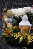 Candle IV Stock Photo